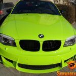 Hulk's Lime Green BMW 1M (5)