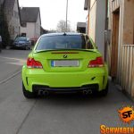 Hulk's Lime Green BMW 1M (9)