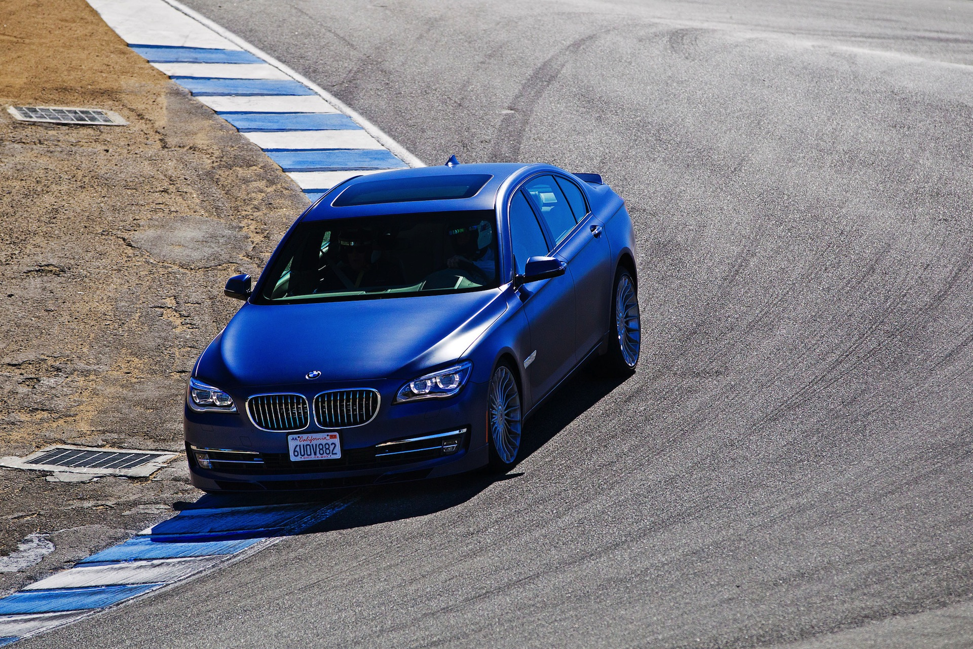 Alpina B7 at Laguna Seca