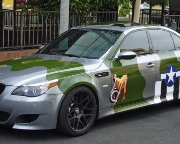 E60 BMW M5 military livery