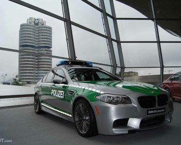 Custom F10 BMW M5 Polizei