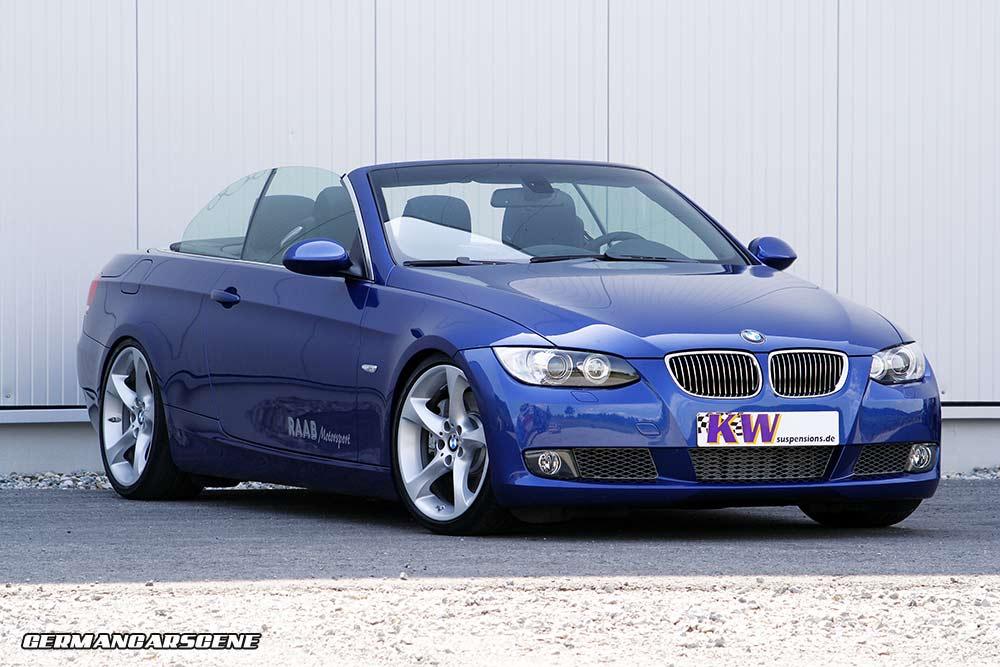 E93 BMW 3 Series KW coilover