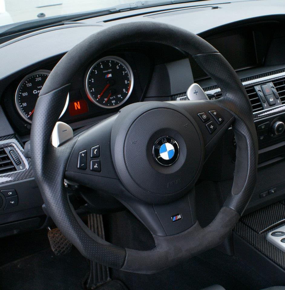 G-Power E92 BMW M3 interior
