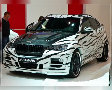 Hamann BMW X6 White Tiger