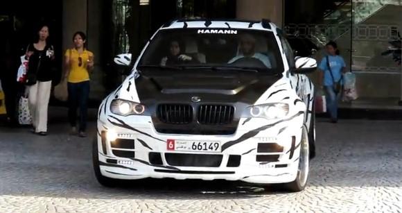 Hamann BMW X6 White Tiger