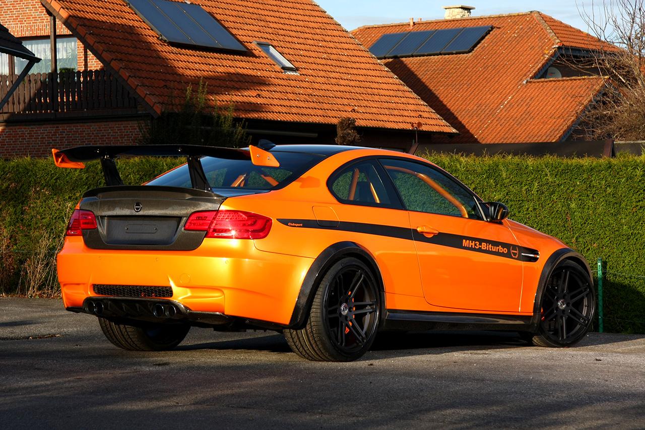 Manhart Racing MH3 V8 RS E92 BMW M3