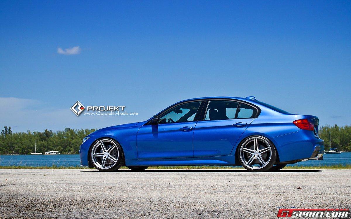 F30 BMW 3 Series by K3 Projekt Wheels