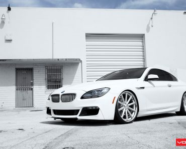 Vossen Wheels F12 BMW 6 Series