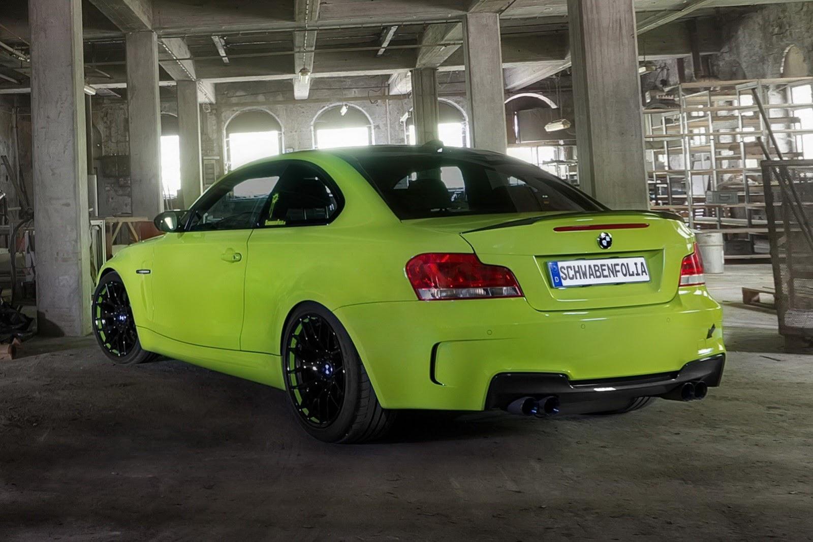 BMW 1 Series M Coupe by Schwabenfolia