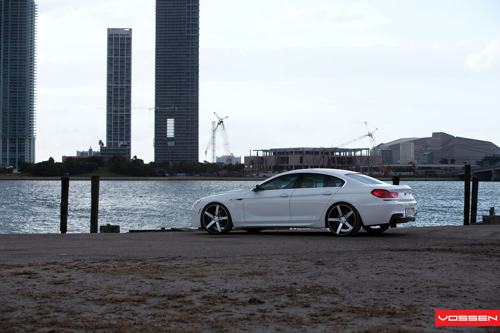 BMW 6 Series Gran Coupe on Vossen Wheels