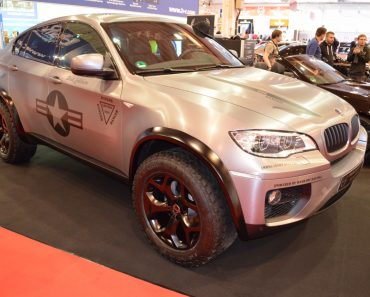 E71 BMW X6M Dirt Edition by Manhart