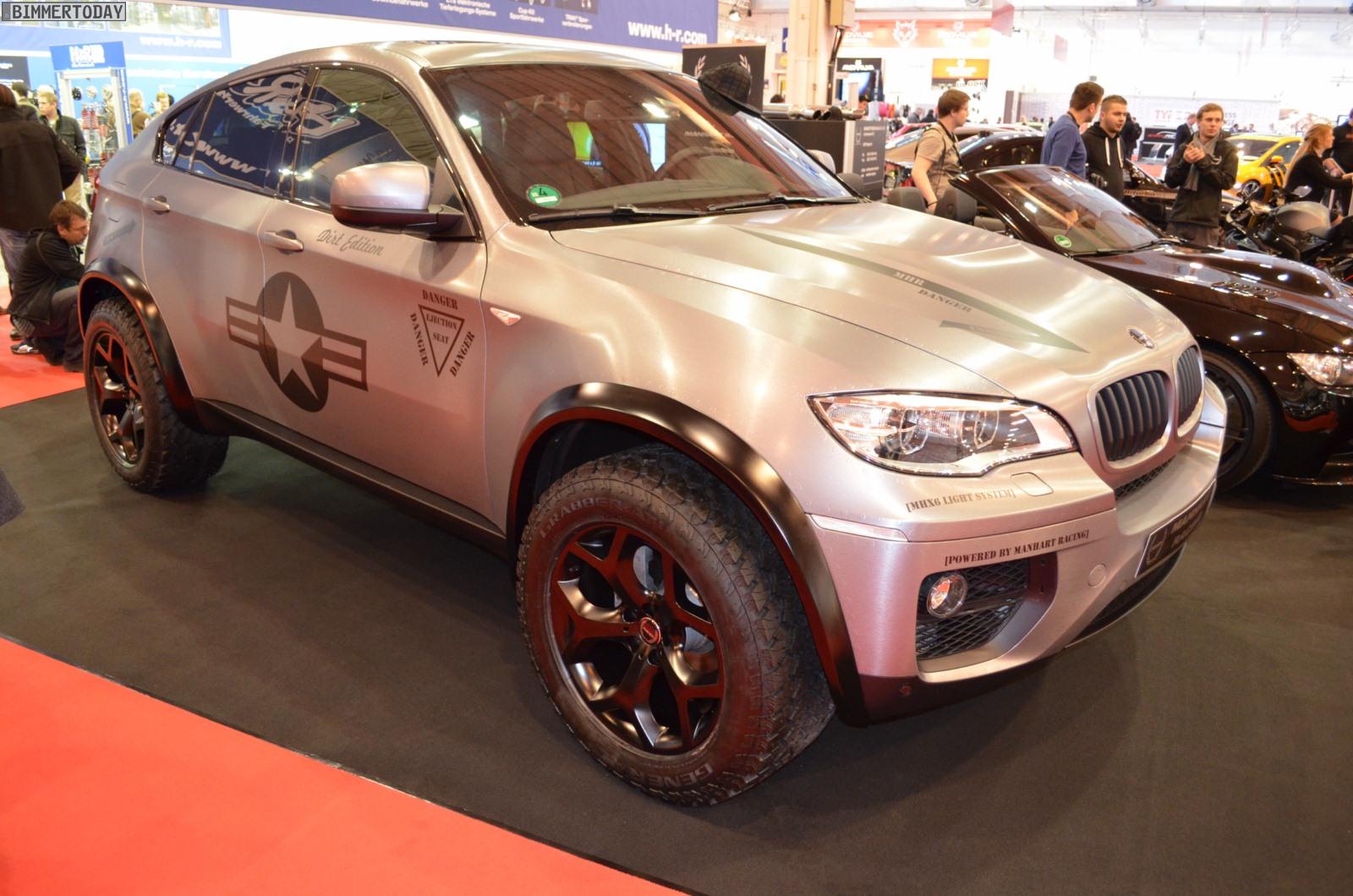 E71 Bmw X6m Dirt Edition By Manhart Racing Bmw Car Tuning