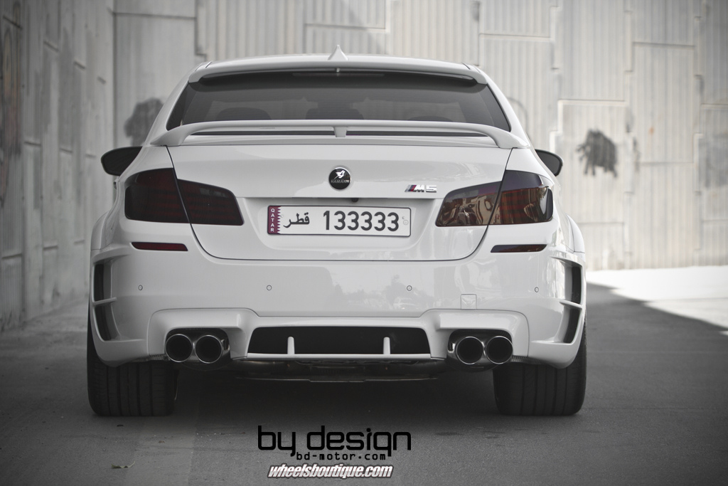 F10 BMW M5 by Hamann and Wheels Boutique