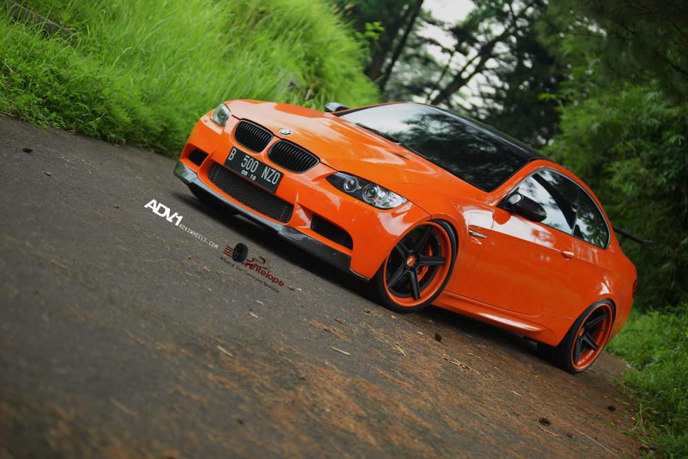 E92 BMW M3 Halloween Edition Orange by Antelope Ban