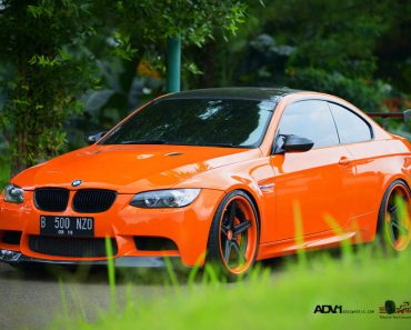 E92 BMW M3 Halloween Edition Orange by Antelope Ban