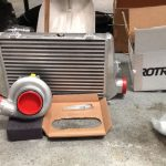 Rotrex Supercharger and Intercooler