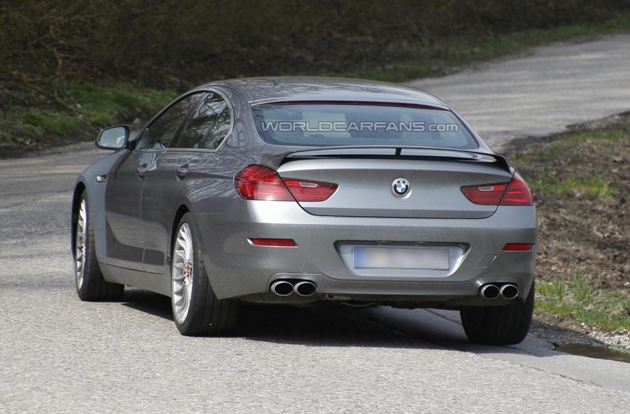 Alpina BMW 6-Series GranCoupe Spy Shot