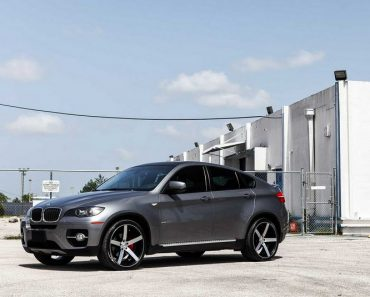 BMW X6 with Vossen Wheels