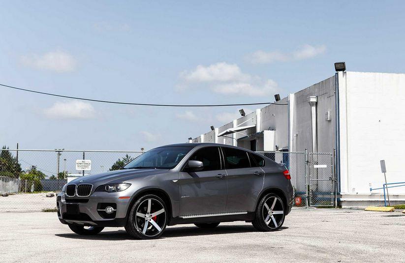 BMW X6 with Vossen Wheels