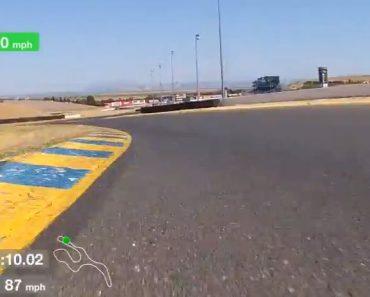 E90 BMW M3 on Sonoma track