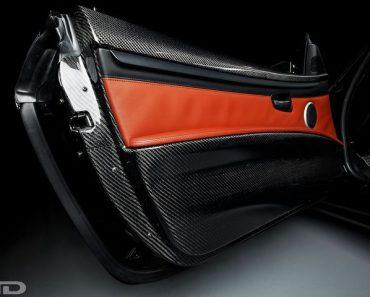 IND Carbon Fiber Door Panel