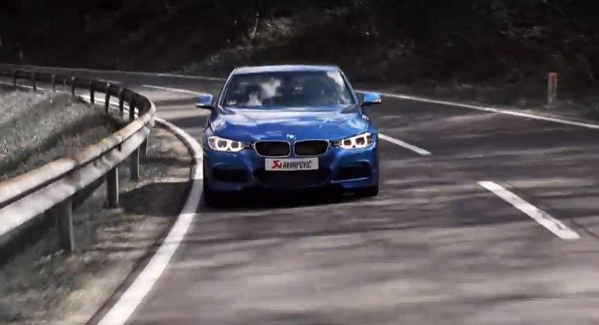 Akrapovic Evolution exhaust for F30 BMW 335i