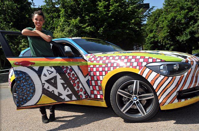 BMW 1 Series Art Car