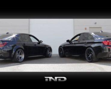 BMW M5 Sound-off