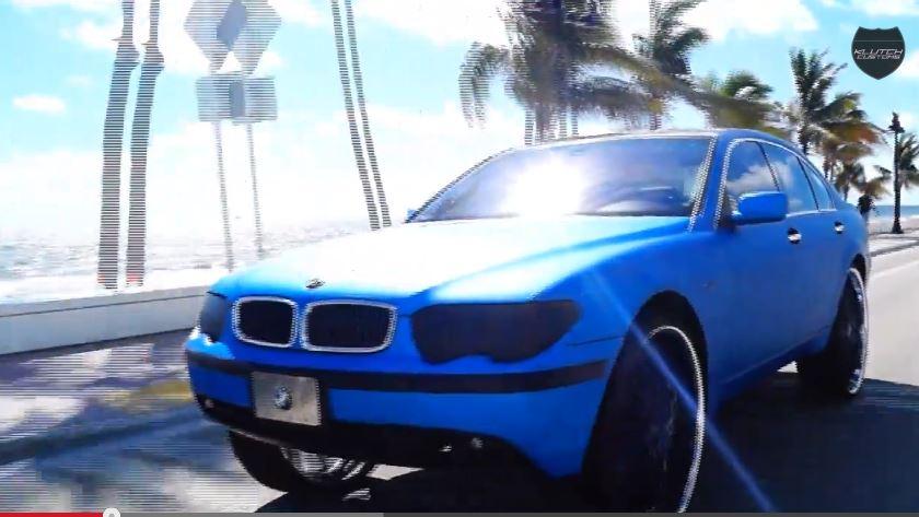 34 inch wheel BMW 7 Series