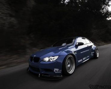 E92 BMW M3 by Liberty Walk