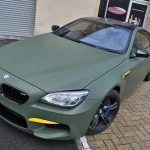 Military Green BMW M6