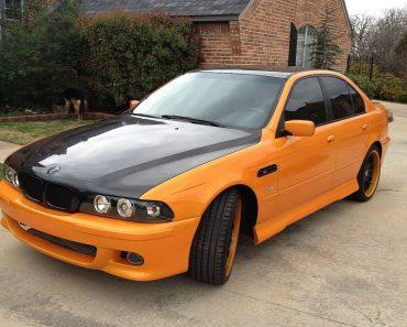 E39 BMW M5 replica