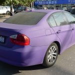 Matte Purple BMW 3 Series