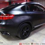 Semi-matte Black E71 BMW X6