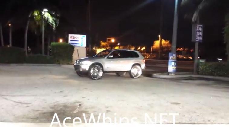 30 inch wheels on BMW X5