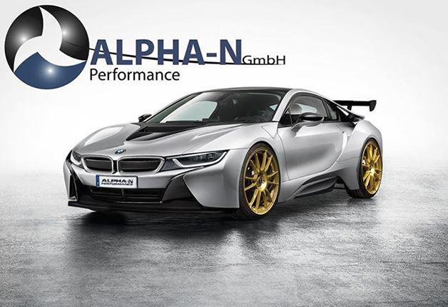 Alpha-N BMW i8 Rendering
