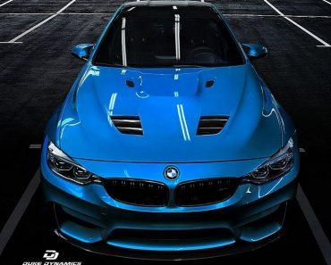 MD4 BMW M4 Rendering