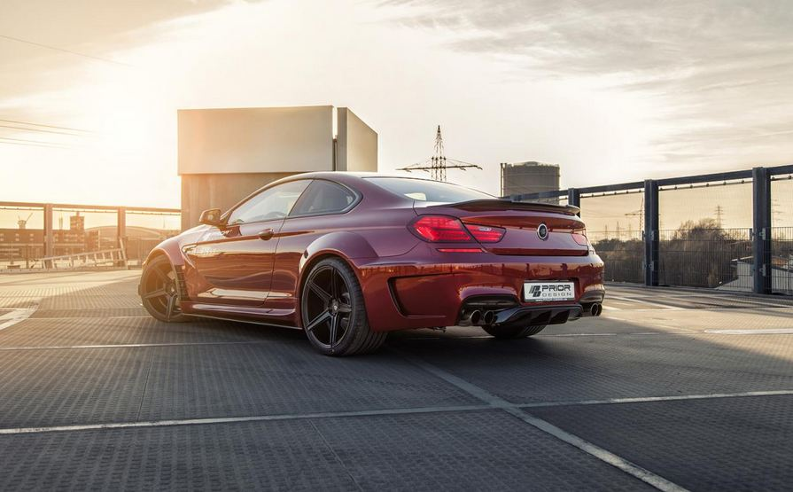BMW 6 Series Coupe by Prior Design