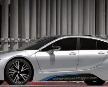 Four Doors BMW i8 Rendering