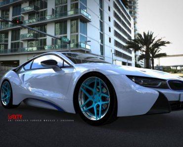6Sixty wheels for BMW i8