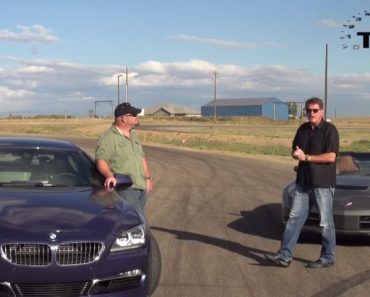 Alpina B6 vs Corvette Stingray