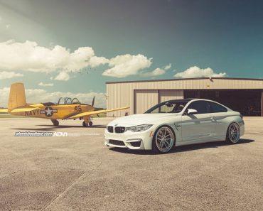 BMW M4 on ADV.1 wheels