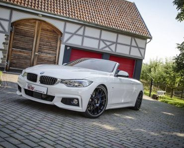 KW coilovers for BMW 4 Series convertible