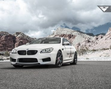 BMW M6 on Vorsteiner Wheels
