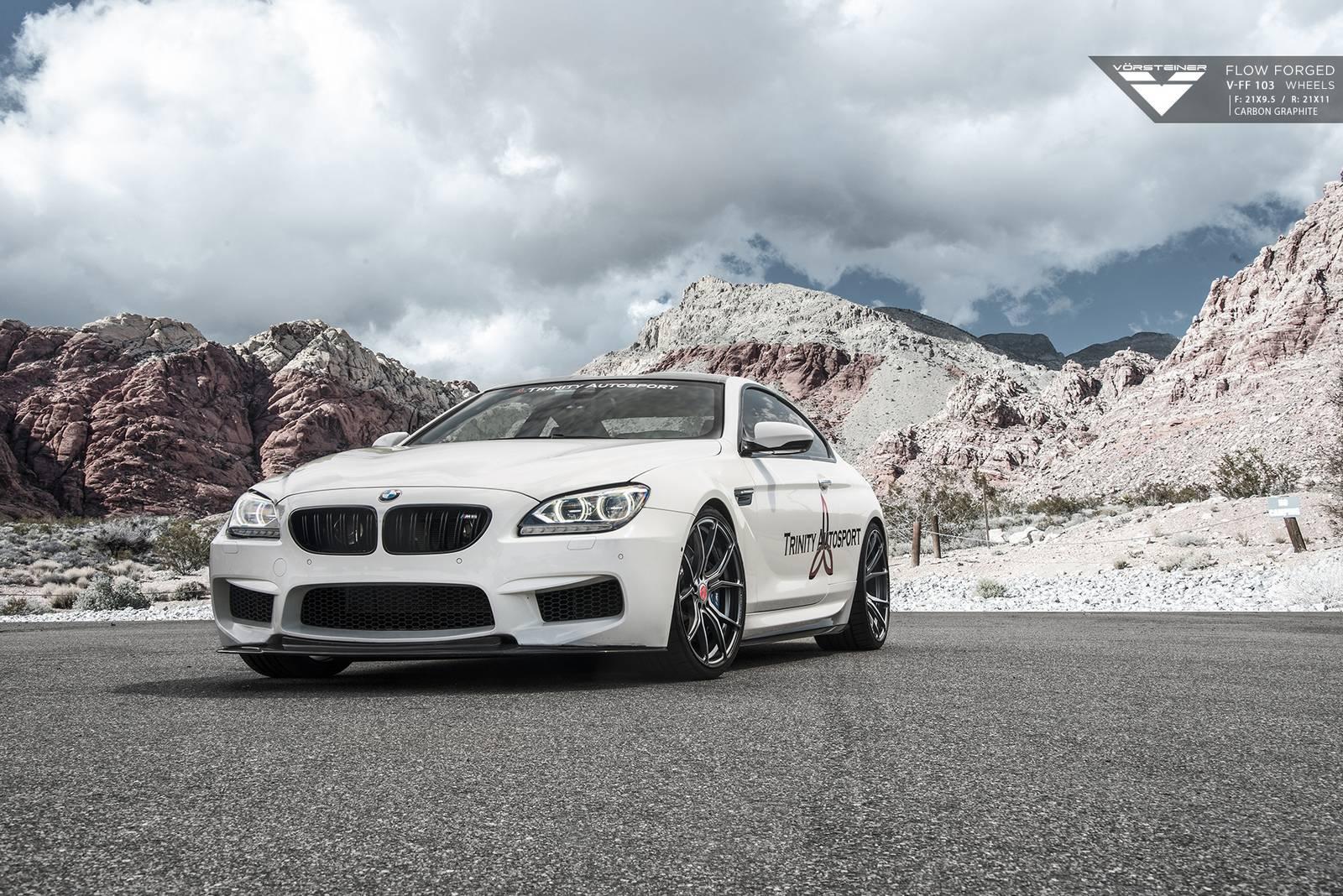 BMW M6 on Vorsteiner Wheels