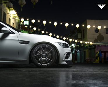 E92 BMW M3 on Vorsteiner Wheels
