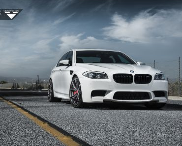 F10 BMW M5 on Vorsteiner Wheels
