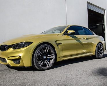 Austin Yellow BMW M4 Convertible by EAS (4)