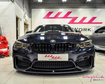 Midnight Blue F82 BMW M4 by Wrap Workz (10)