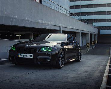 F10 BMW 5-Series M Sport Sits on Vossen Wheels (10)